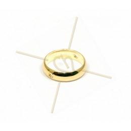 ring metal 12mm  2 holes...