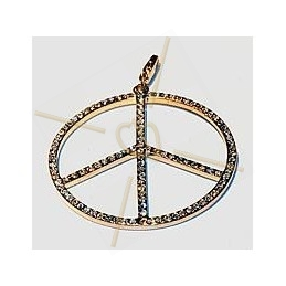pendant with strass 45mm