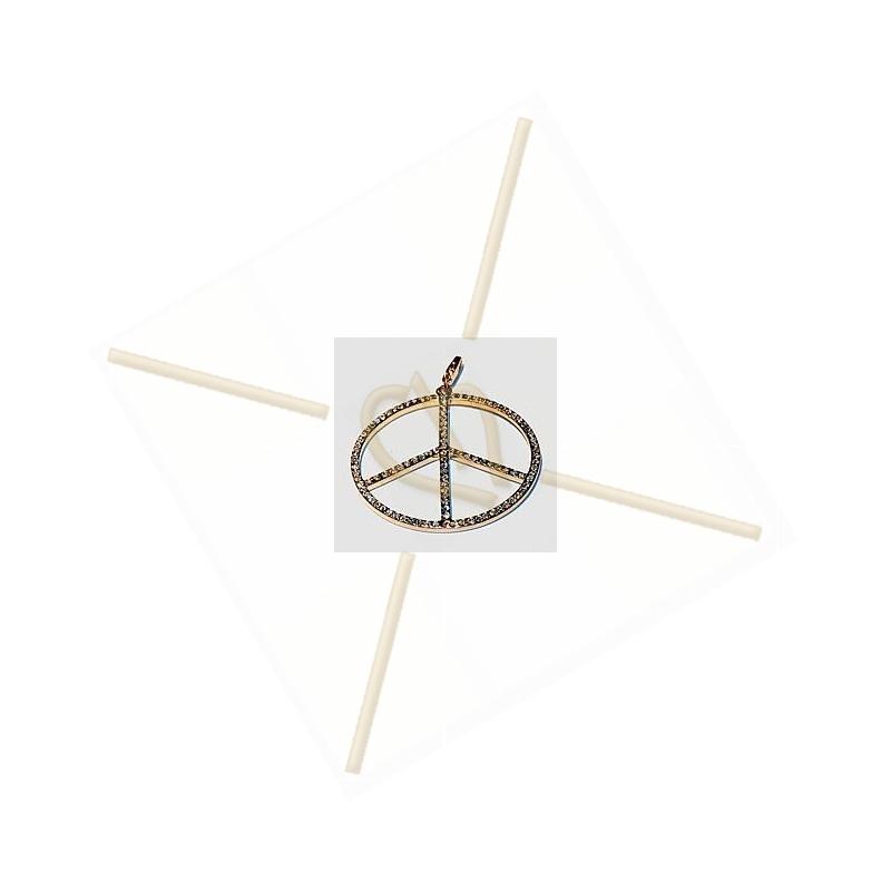 hanger met strass 45mm