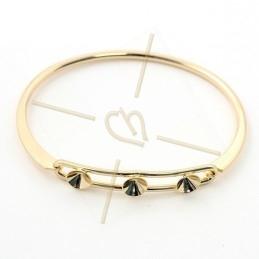 bracelet metal rigide pour...