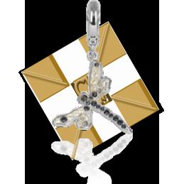 hanger Swarovski libelle...