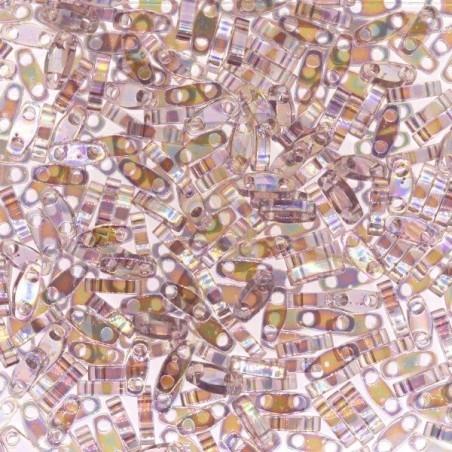 Miyuki Quarter Tila Amethist Clair AB transparent 256