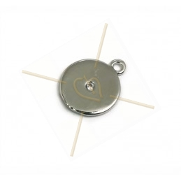 pendant metal 10mm with...