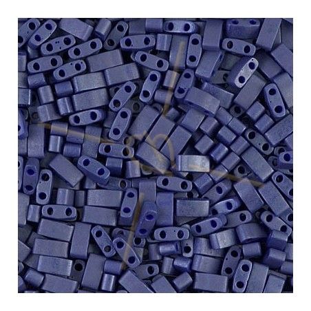 Half Tila Miyuki 5*2mm Cobalt Blue Mat