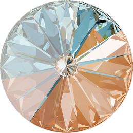 ronde glaskraal 4mm Chrome
