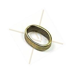 anneau oval 13mm