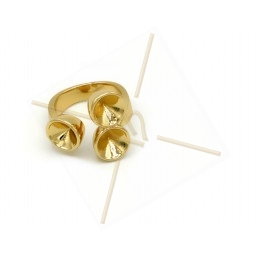 "Ring gold color ""one Size""..."