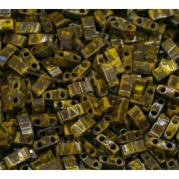 Half Tila Miyuki 5*2mm Vert...