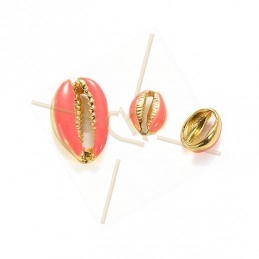 Coquillage Shell beads 10mm...