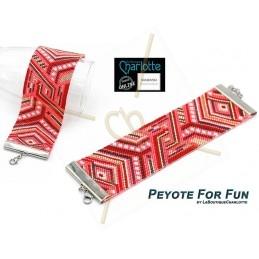 Grille Peyote armband FabRab 1