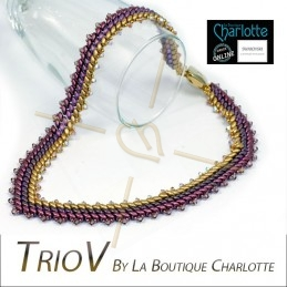 Pack Necklace TrioV Purple...