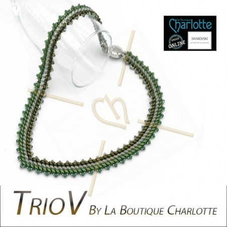 Pack Necklace TrioV Green