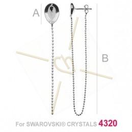 earrings silver .925  for...