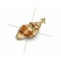 drop perles 4*6mm opaque khaki