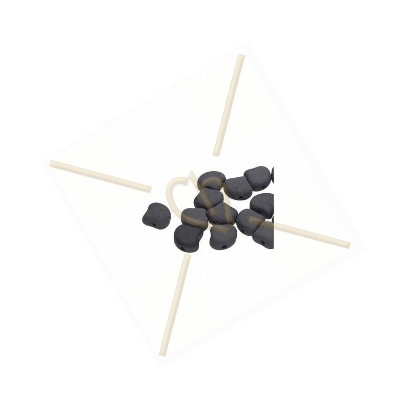 Ginko Beads Jet Matte