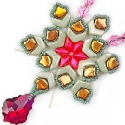 ring regelbaar voor Miyuki tissage gold plated