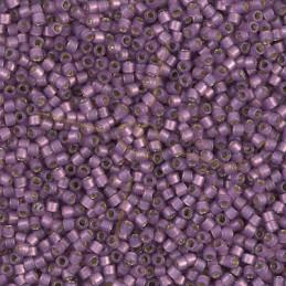 Miyuki Delica 11/0 - Duracoat Silverlined Lilac - Db2182