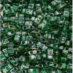 Half Tila Miyuki 5*2mm Vert Transparant Picasso HTL-4507