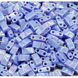 Half Tila Miyuki 5*2mm Bleu Indigo Opaque Lustre HTL-483