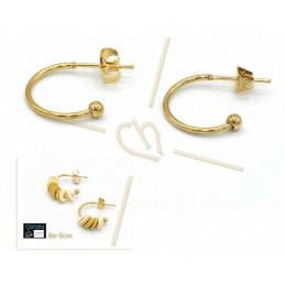 earrings for Swarovski 4470 10mm silver .925