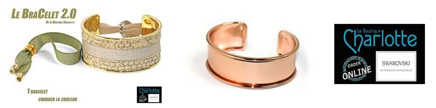 """bracelets plate """"esclave"""""""