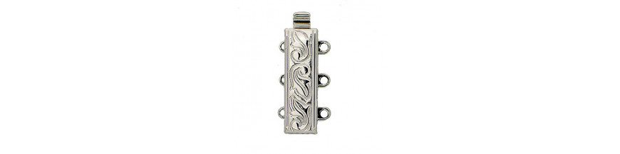 Clasps 3-rows