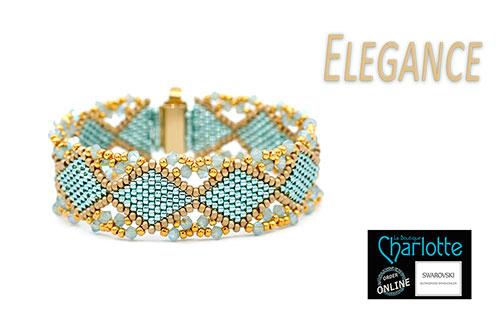 Kit Elegance Turquoise Gold