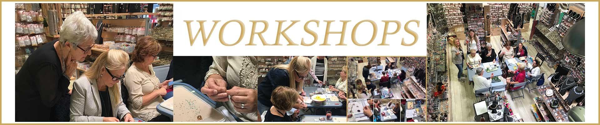 follow a workshop @ La Boutique Charlotte