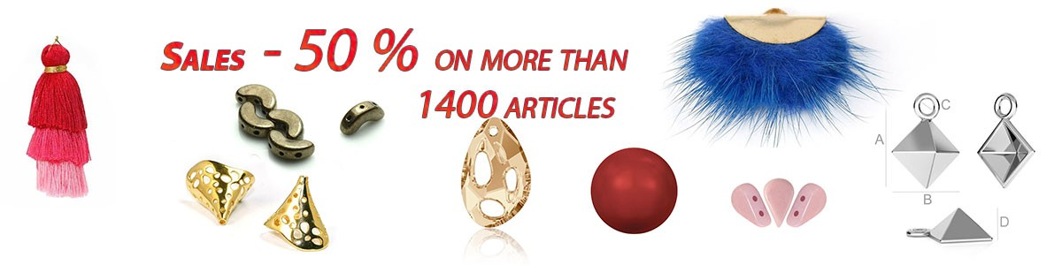 over 1400 articles at - 50 % discount
